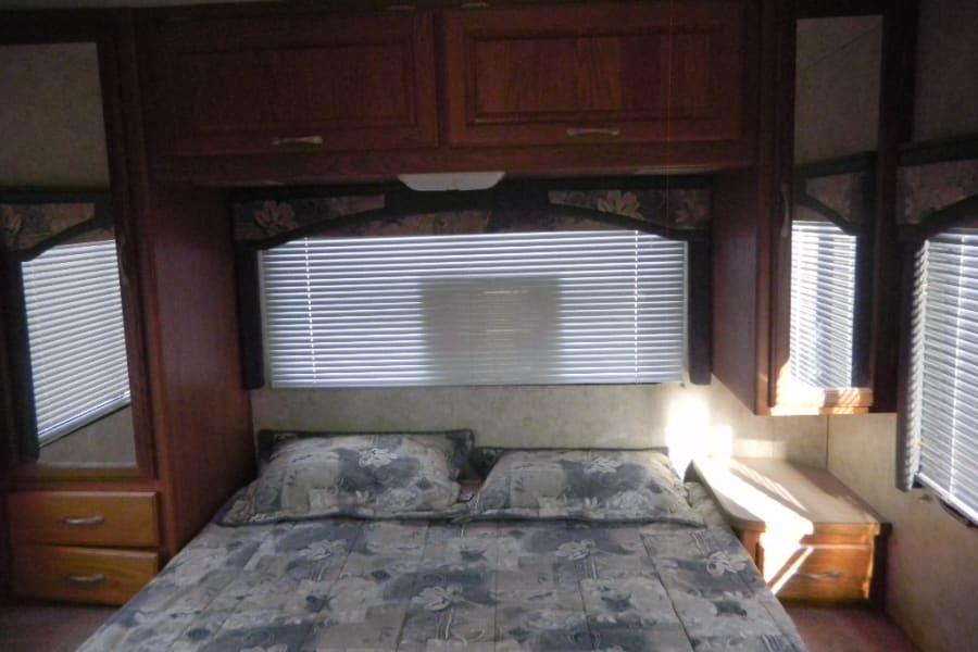 Queen memory foam mattress