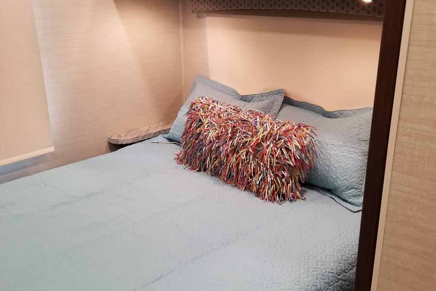 Master Bedroom Queen Mattress is Upgraded