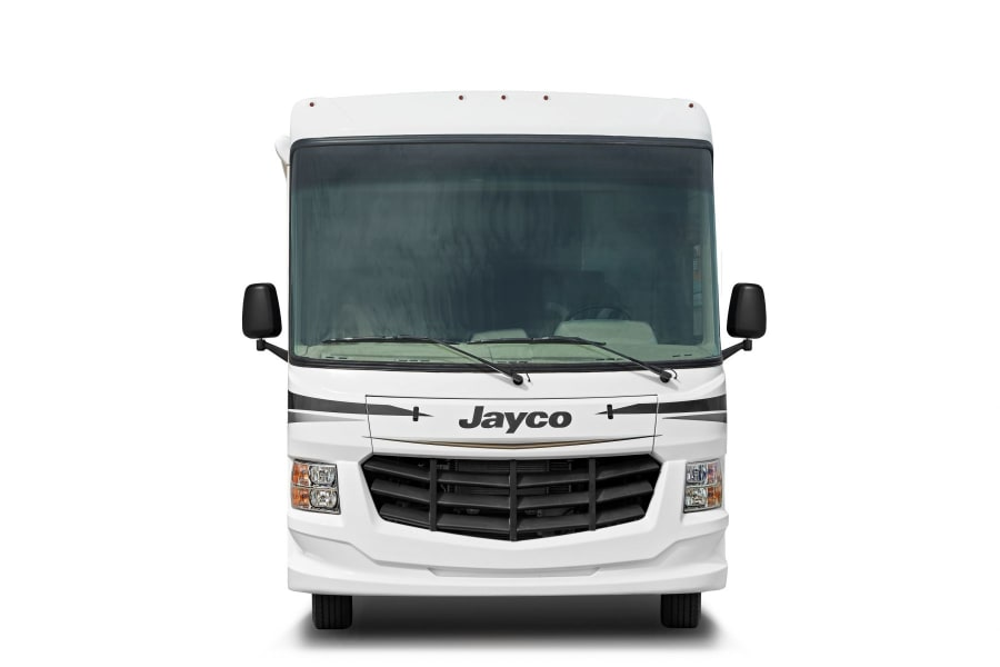 120-inch panoramic windshield equipped with oversized wiper blades allows for maximum visibility
