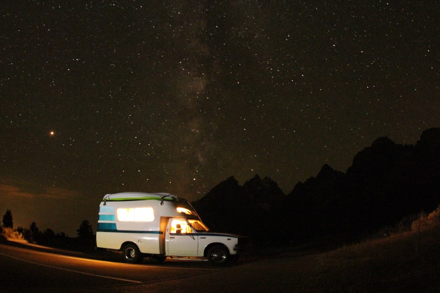 Teton National Park Stargazing