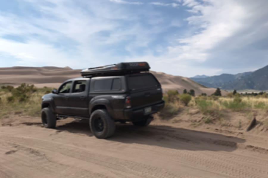 2008 Toyota Tacoma Motor Home Truck Camper Rental In