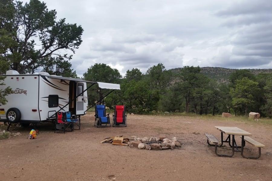 Setup at camp site