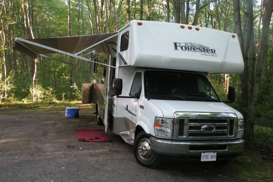Front view of our beautiful rig!