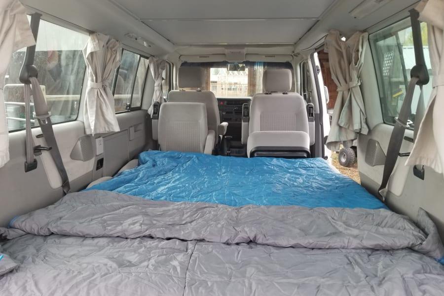 "Interior bed, 60"" wide"