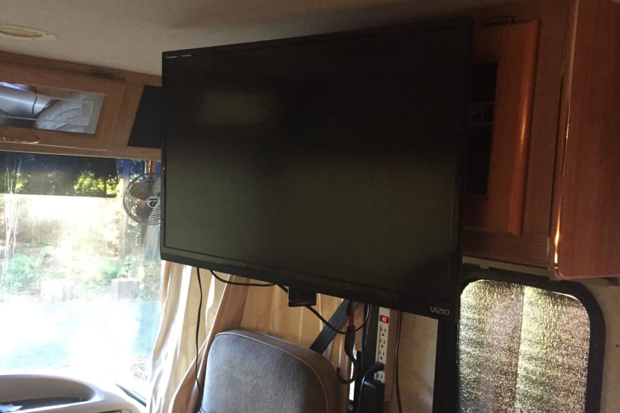 HD TV with Blu-Ray player