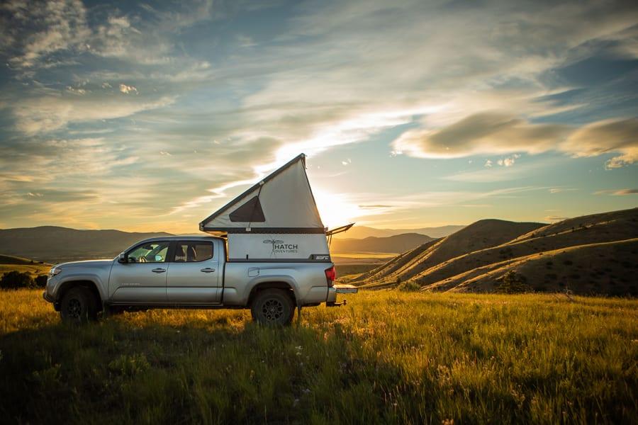 2018 Toyota Tacoma Motor Home Truck Camper Rental In