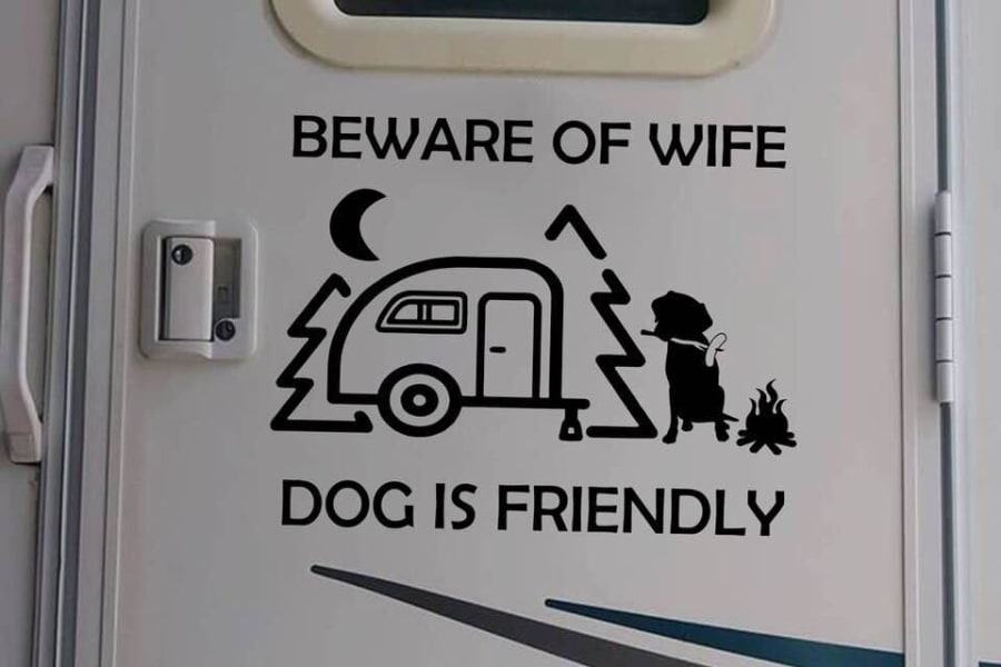 Many parks have restrictions on pets. Remember limited floor space but please keep pets on the floor. Like cars, pets should not be left alone in an RV. Please no cats or other pets.