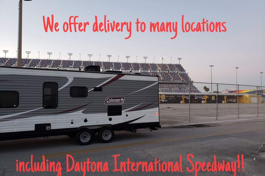 Delivery to Daytona Speedway!!