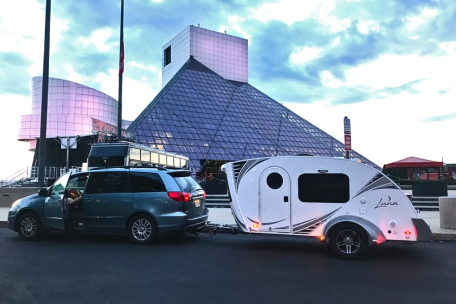 Yes.  Gigi and Blue Bertha have been to the Rock & Roll Hall of Fame in Cleveland.