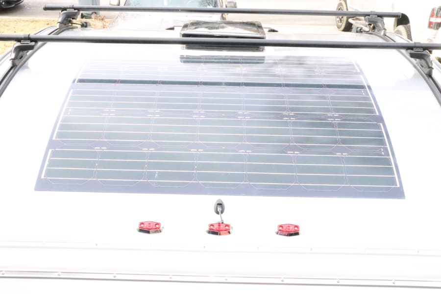 Solar on roof awesome for Boondocking