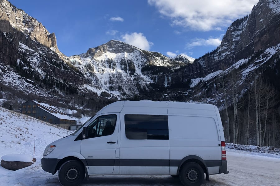 Recent trip  down to Ouray, Telluride and Ridgeway.  Very happy with Espar and Insulated window covers for those single digit nights.