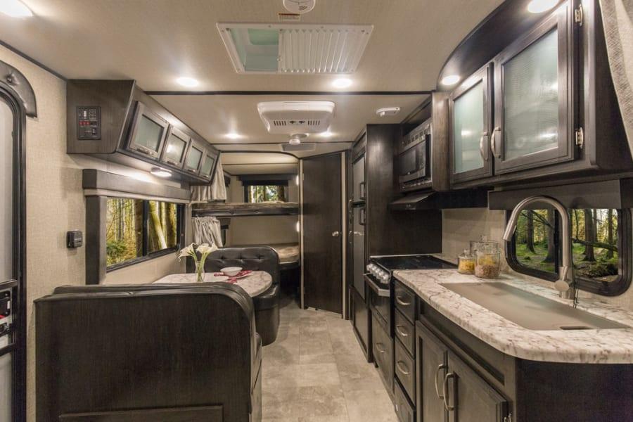 Super spacious interior