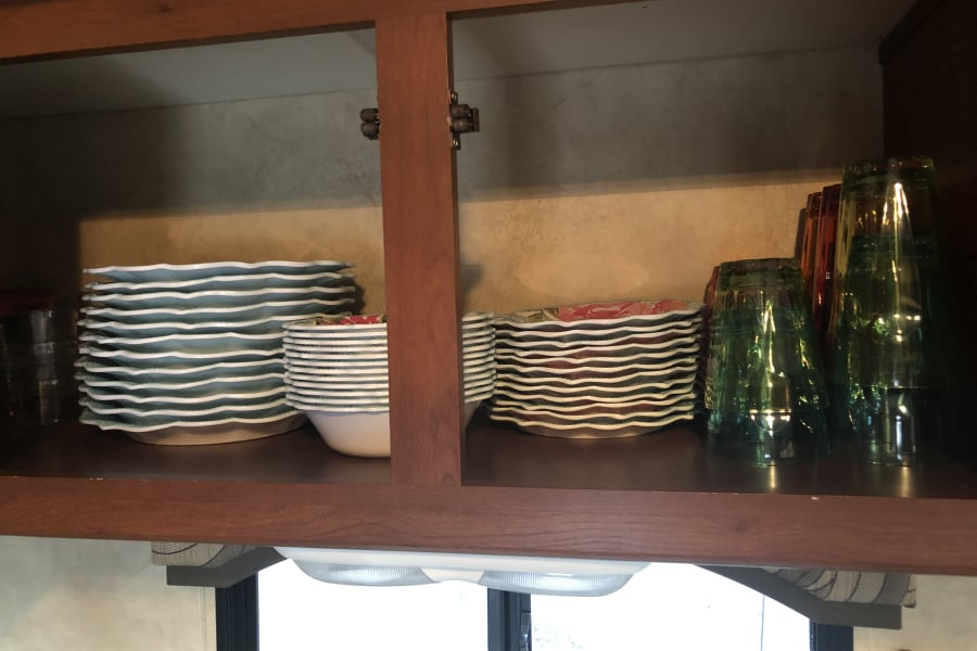 Brand new dishes!!