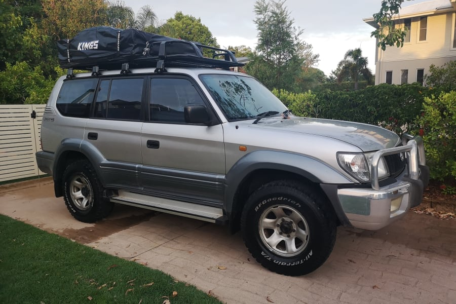 2000 toyota landcruiser prado motor home campervan rental in coopers plains qld outdoorsy usd