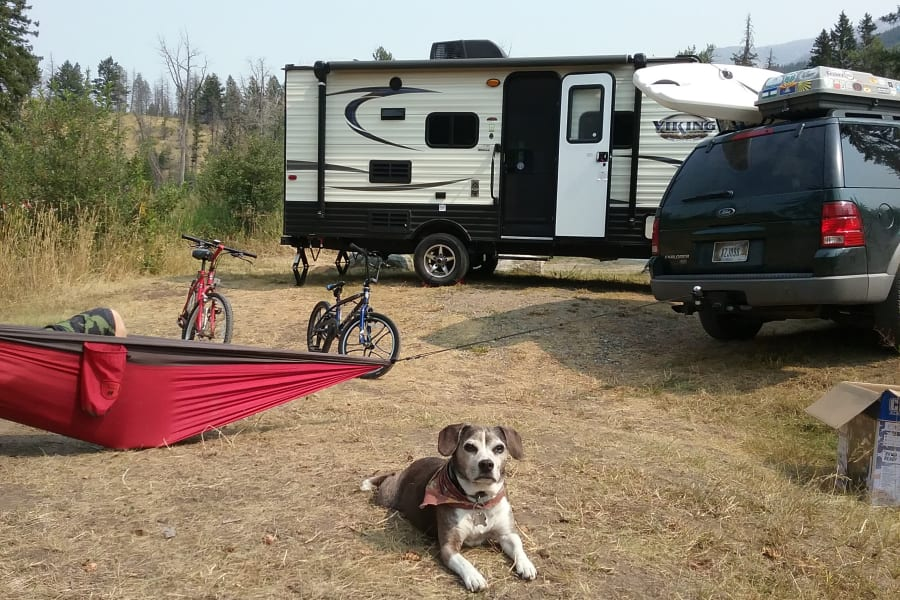 Here we're enjoying our 2017 model that was the same size and floorplan as the new one!