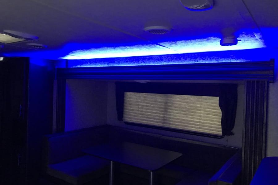 LED night light.