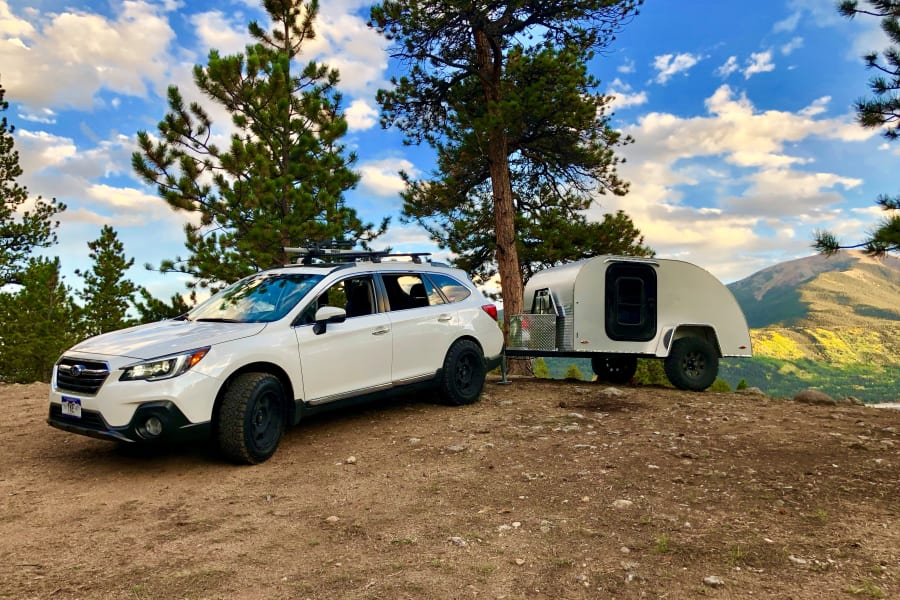 The Canyonland Teardrop is capable of going off-road and off-grid, taking you on new adventures in Colorado's Rocky Mountains!