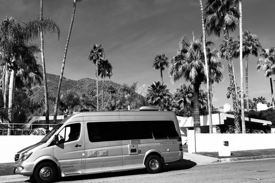 Swanky for Palm Springs.