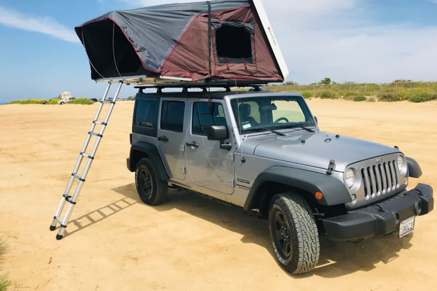 'Gloverlanding'? Like glamping ... but more offroady! Take advantage of the ability to hit the trails, sleep out with nature and comfortably move to the next awesome spot...