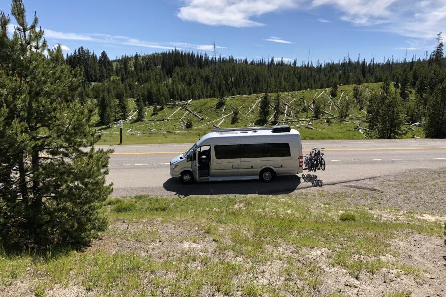 Yellowstone exploring