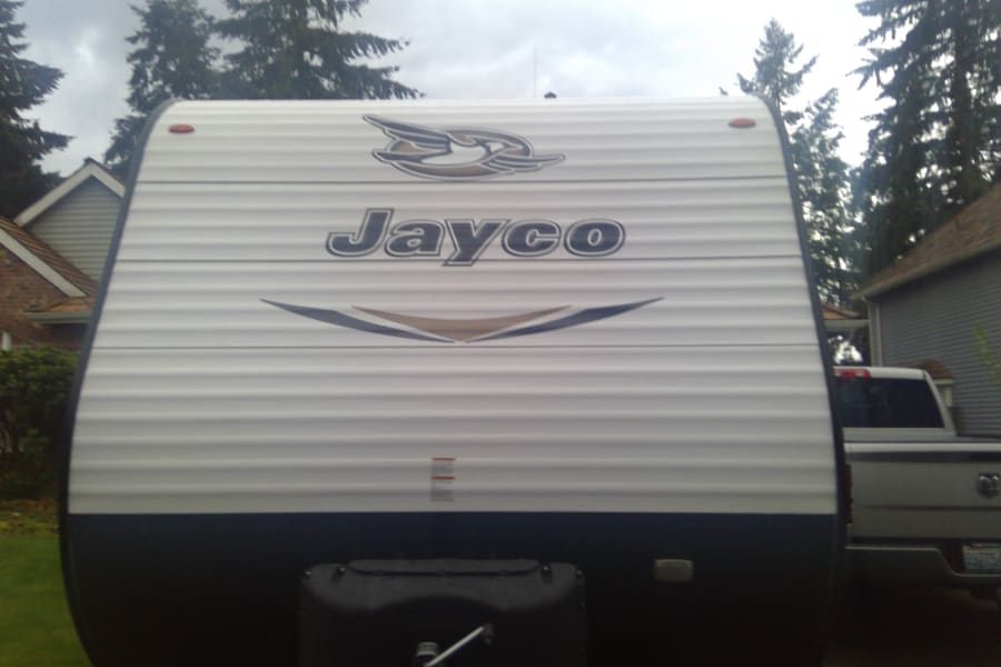 Front View of trailer