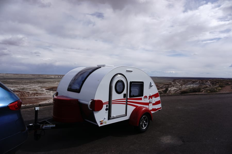 Towing in the Petrified Forest