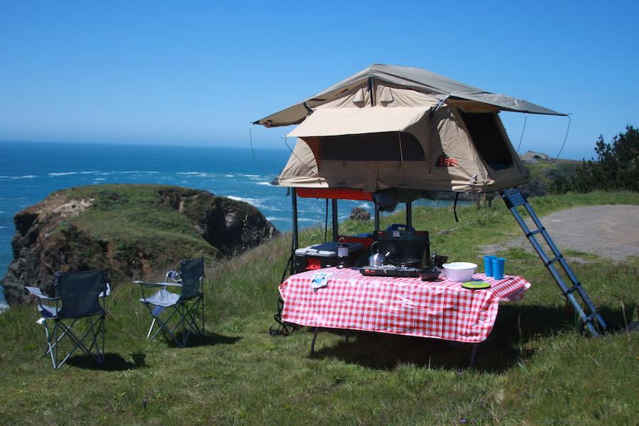 2018 Custom Built Trailer with Tepui Tent Tepui Ayer 2 Trailer Rental in  Petaluma, CA | Outdoorsy