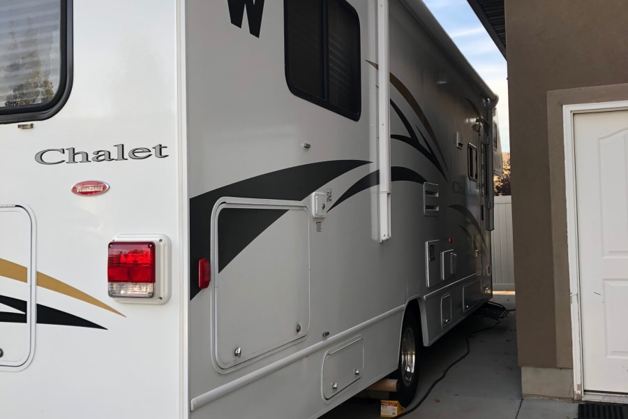 Winnebago Chalet ready for it's next outing