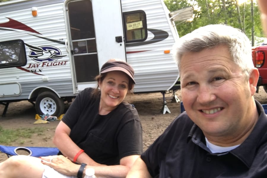 The Happy Camper is our Happy Place to make memories with family and friend!