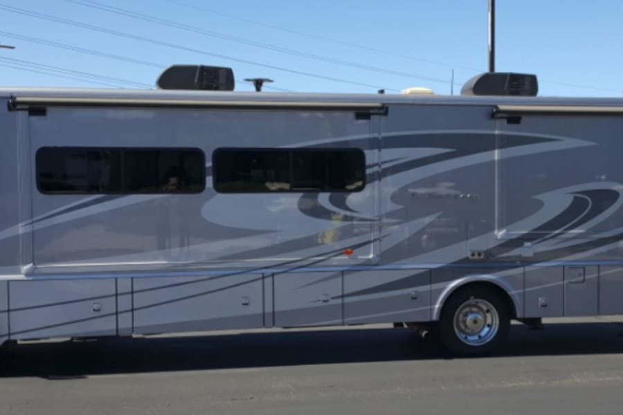 Not your typical RV - sleek look! Go in Style!