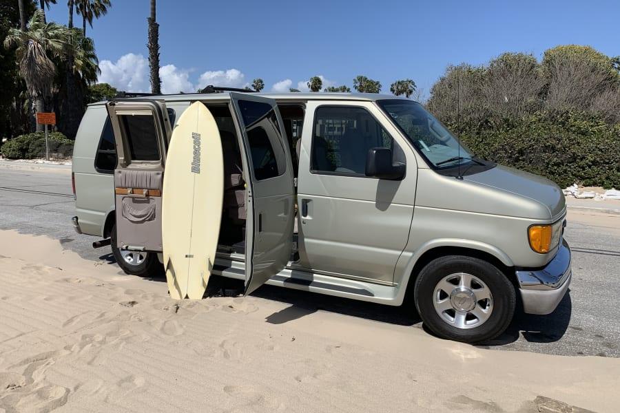 2004 ford econoline 150 motor home campervan rental in los angeles ca outdoorsy usd