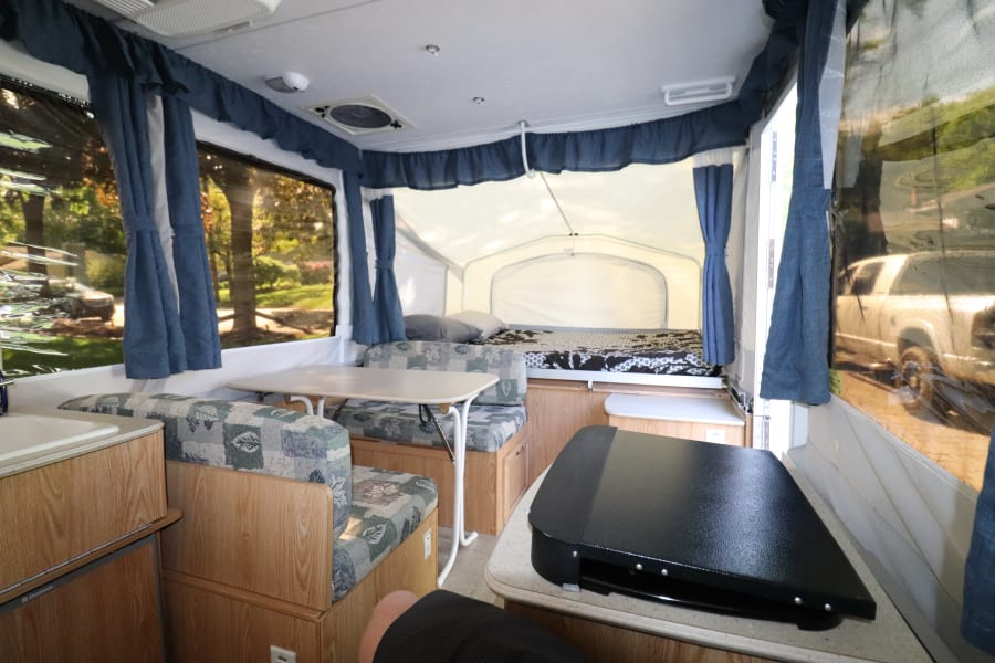 Spacious interior with everything you need!  Just bring food!