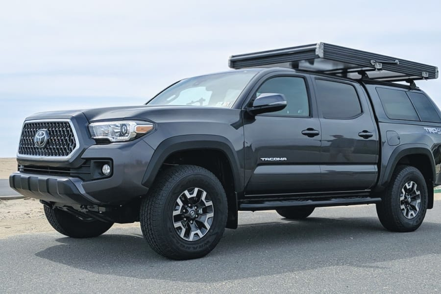2019 Toyota Tacoma TRD Off Road w/ GFC Roof Top Tent Closed