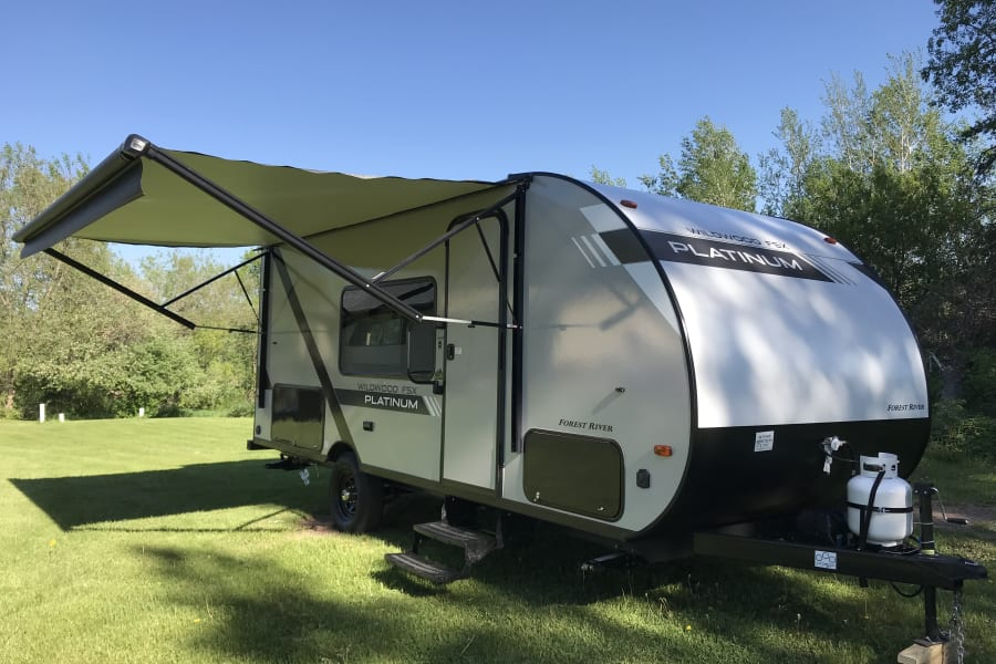 Electric Awning!