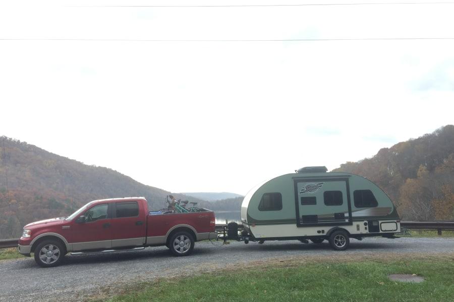 Near Sherando Lake Campground, George Washington National Forest, VA