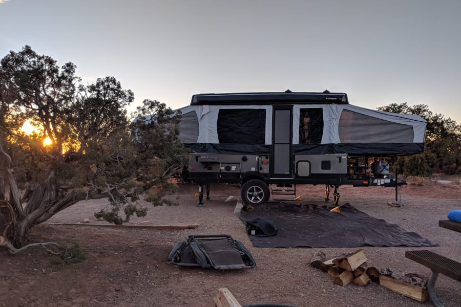 Portable Camping at its best!