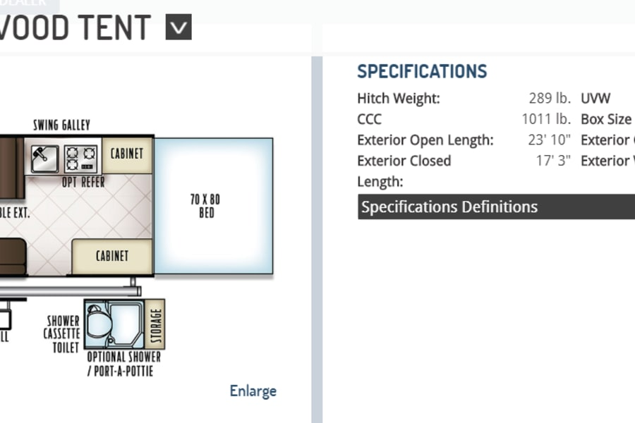 Floor Plan and Dimensions
