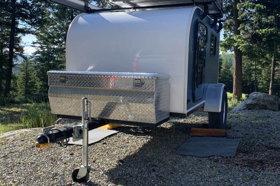 GNA Camping Trailer Package allows you easy access to locations where space is limited.
