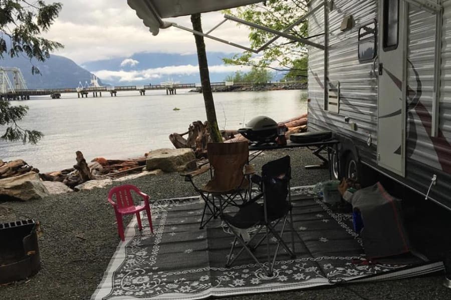 Porteau Cove living
