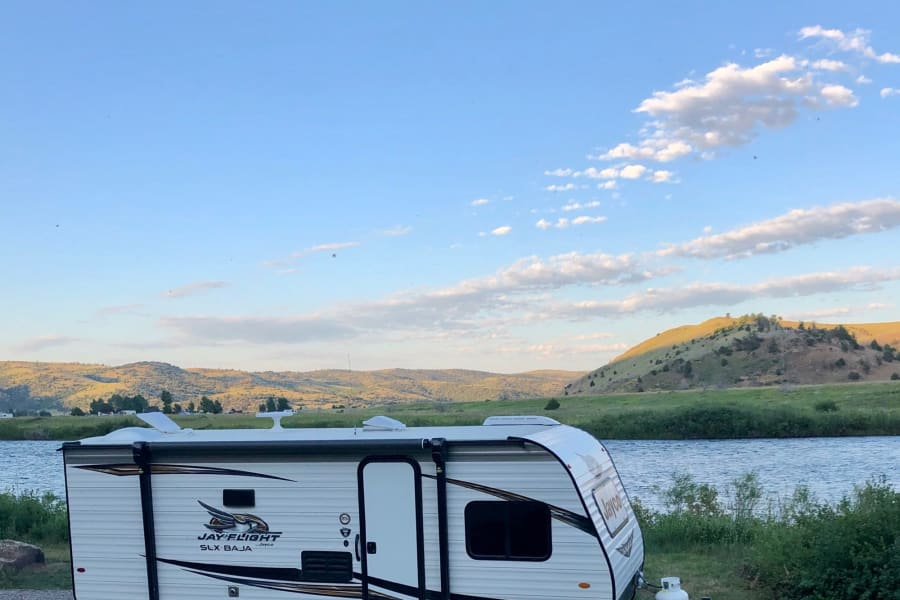 Camping on the Madison River