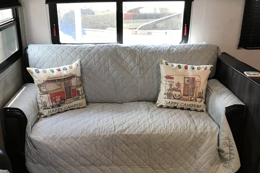 Full-sized sofa