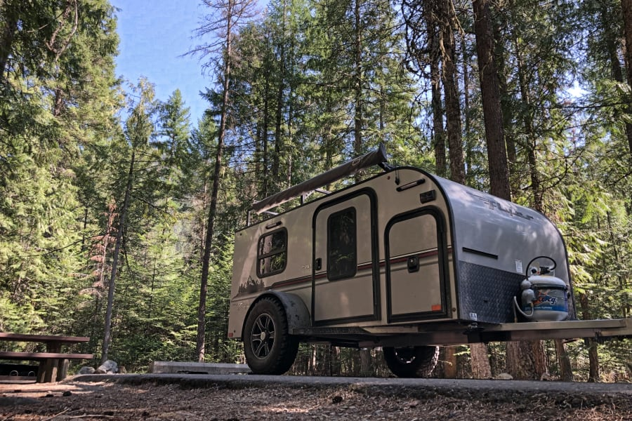 At campground in Idaho