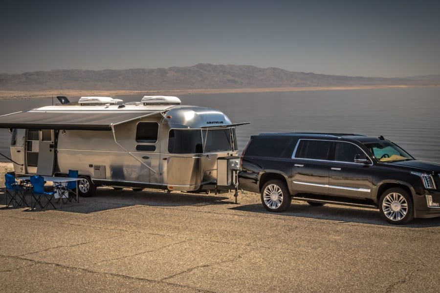 Rent with us, if debating buying an Airstream! Who knows, maybe we'll sell you this on