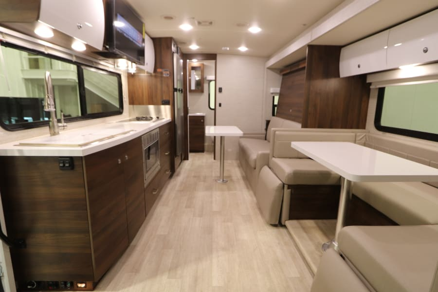 The latest design and tech.  Gorgeous contemporary design w Italian cabinets