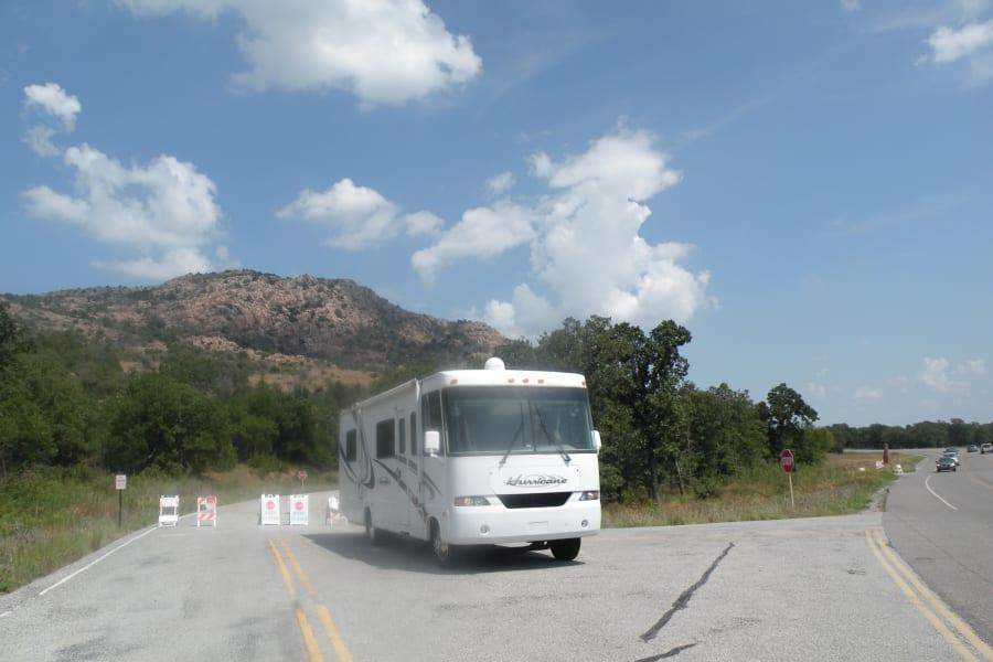 Wichita Mountain Wildlife refusge in southwest Oklahoma