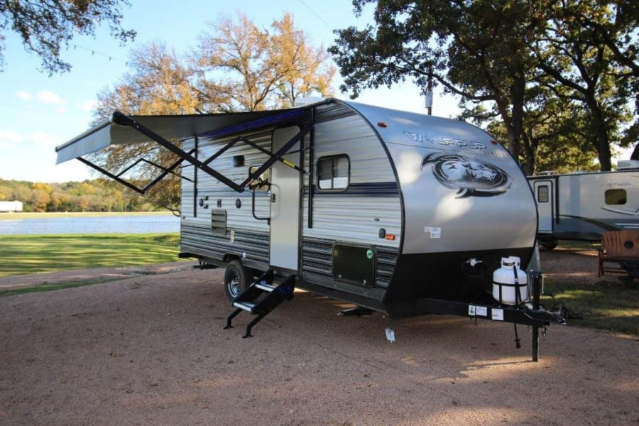 2019 Wolf Pup Travel Trailer.