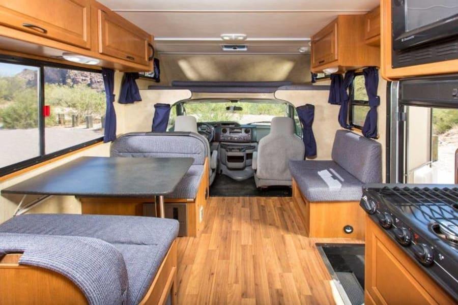 Very spacious and plenty of storage room