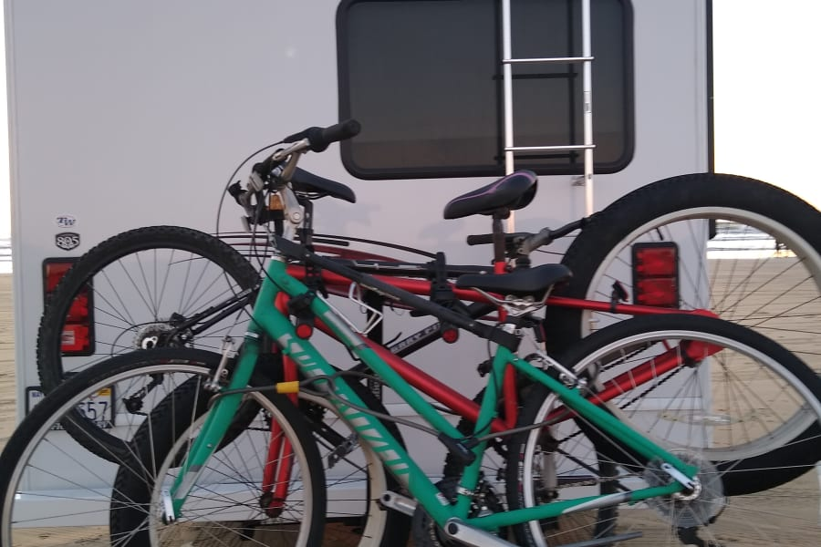 Take your bikes or rent ours