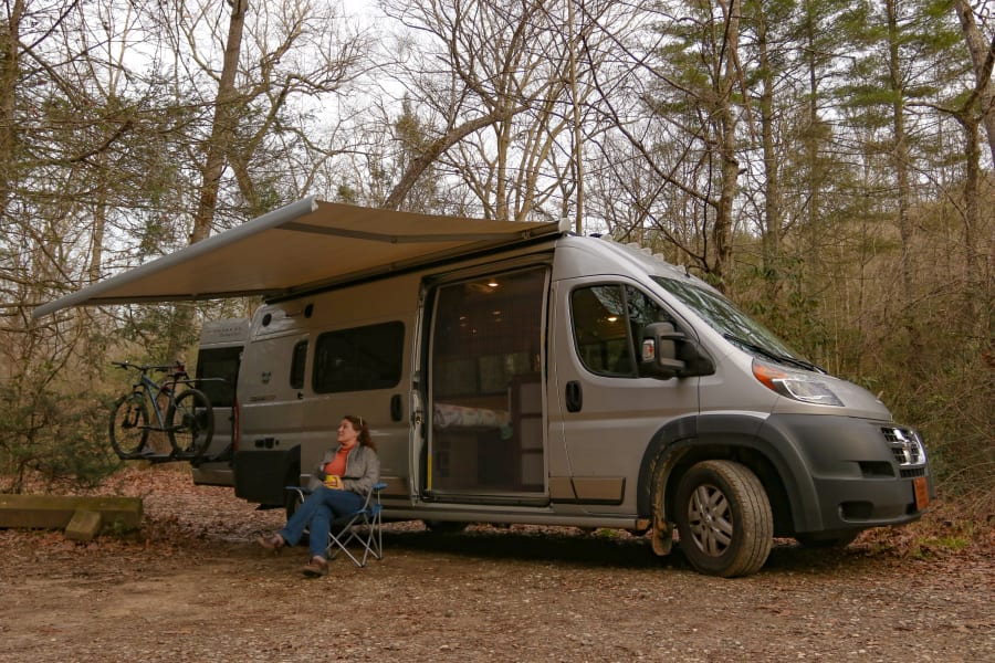 This Winnebago Travato is easy to drive and outfitted for adventure.