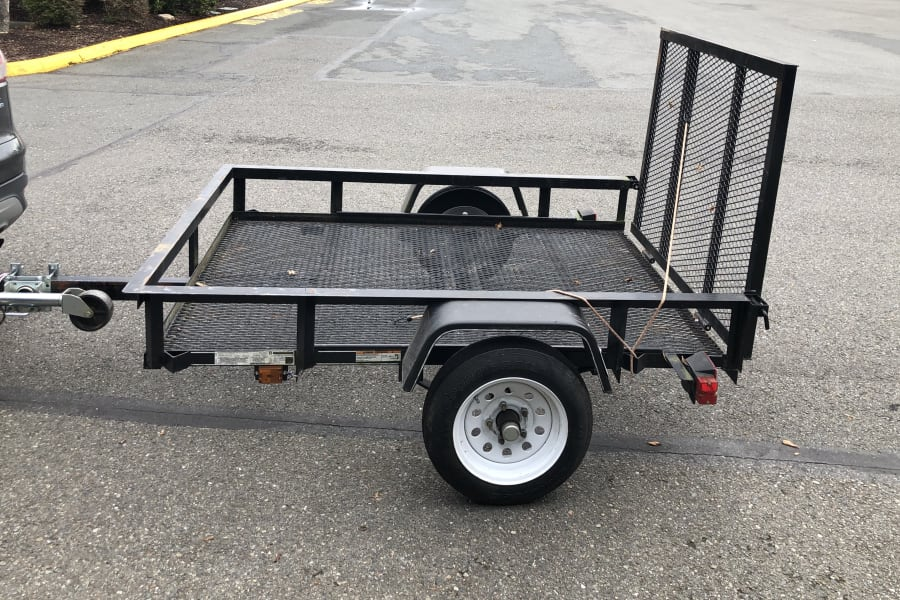 """4X6"""" Trailer, side view"""